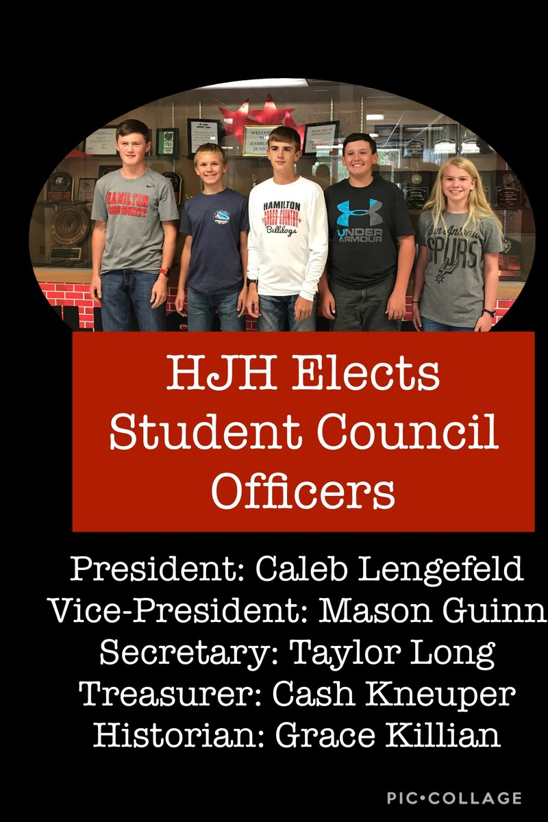 HJH Elects Student Council Officers Thumbnail Image