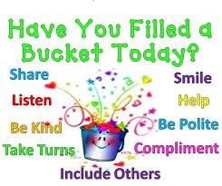 Are You a Bucket Filler Logo