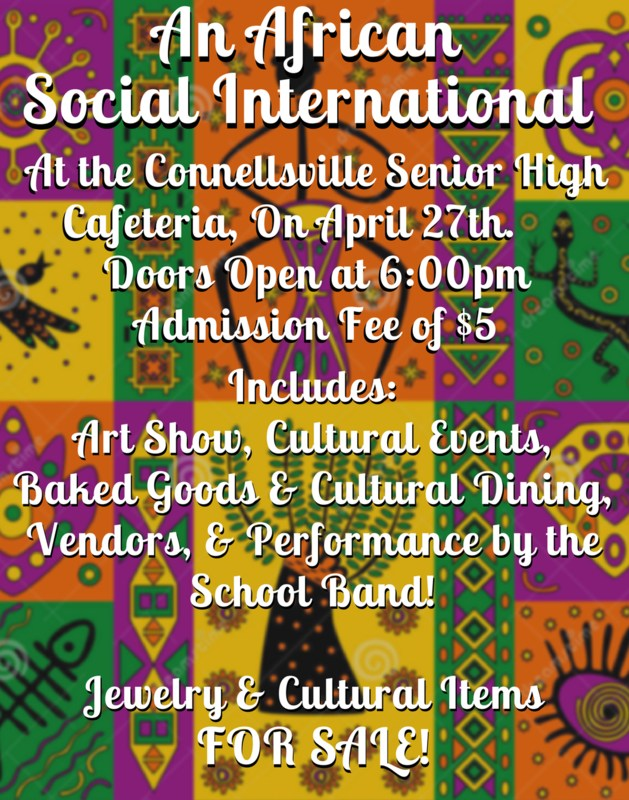 African Social at Senior High: Friday, April 27th Featured Photo