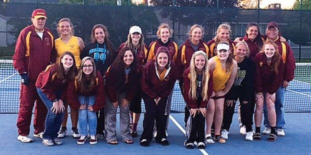 Varsity Girls Tennis Wins Fifth Straight Championship! Thumbnail Image
