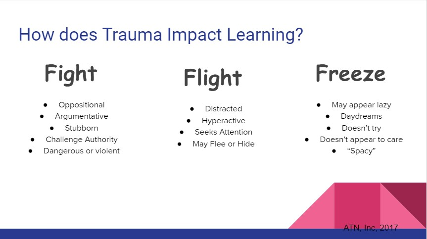 How trauma can impact learning