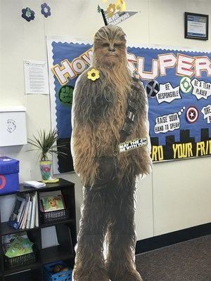 Chewbacca with May the 4th logo