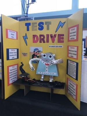 test drive story board