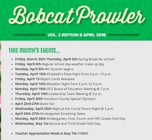 April Bobcat Prowler