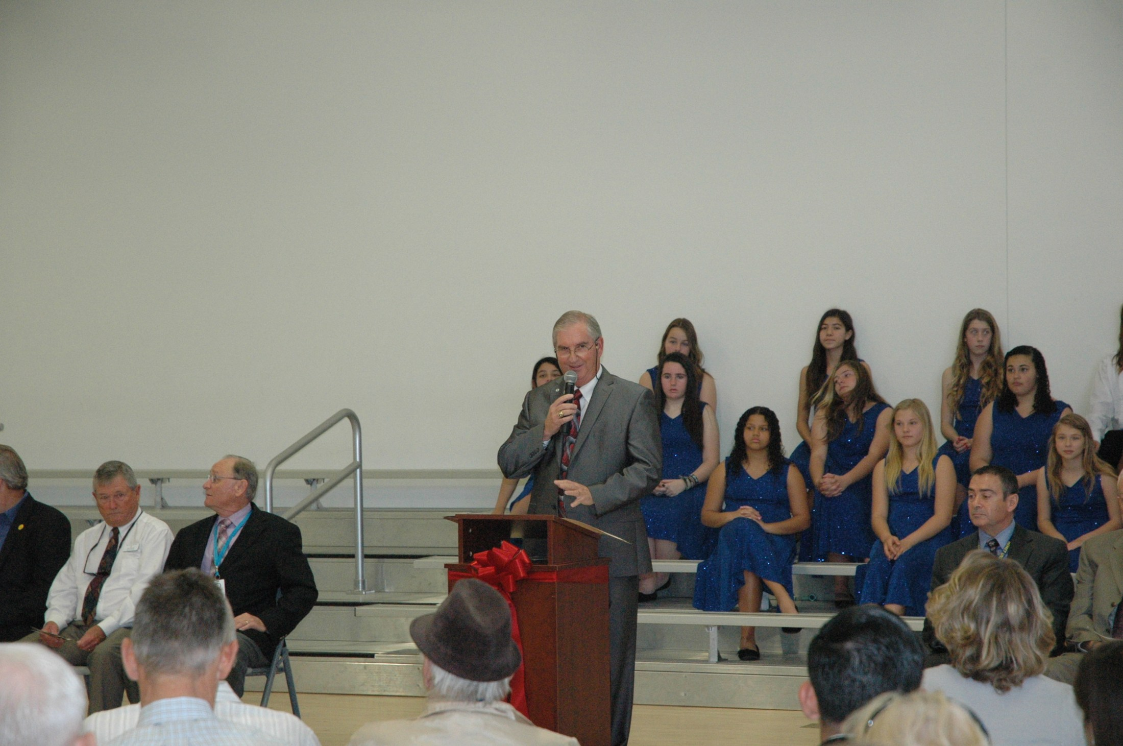 Superintendent Dr. Barry Kayrell