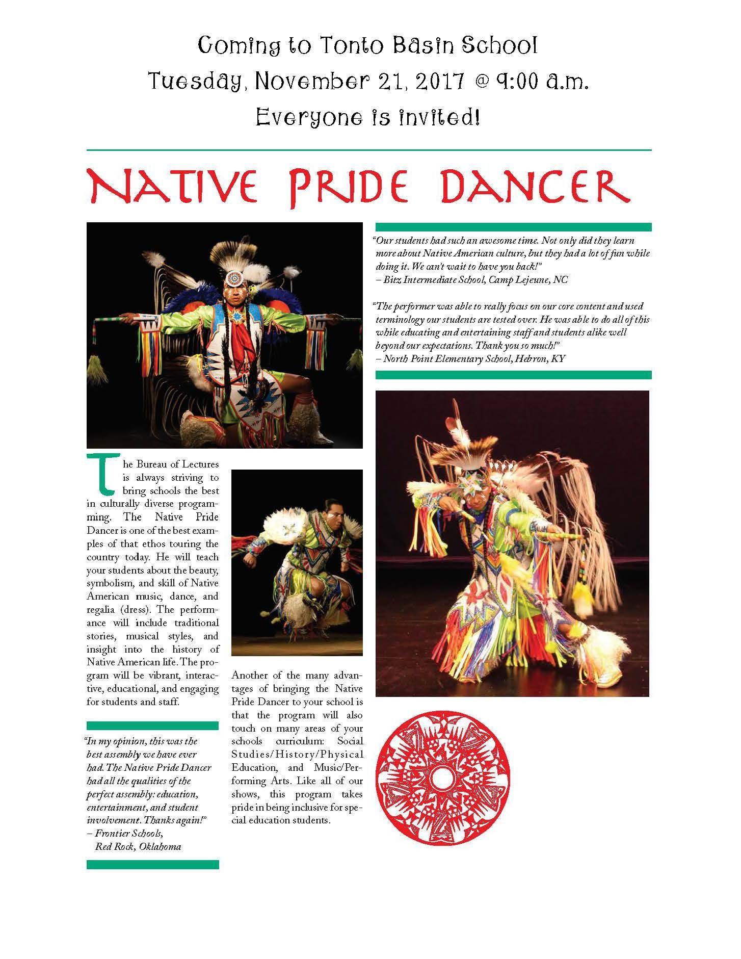 Native Pride Dancer
