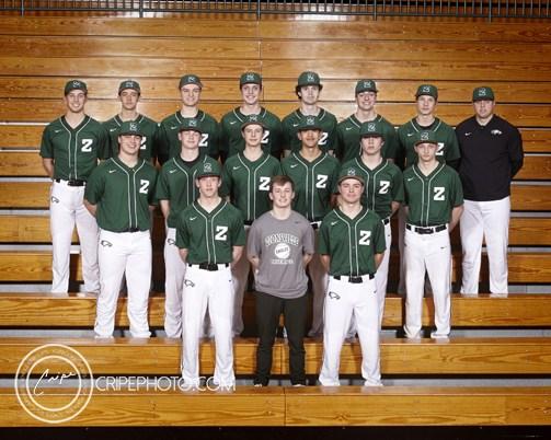 2017 JV Baseball Team Photo