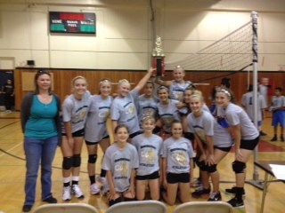 Girl's Volley Ball