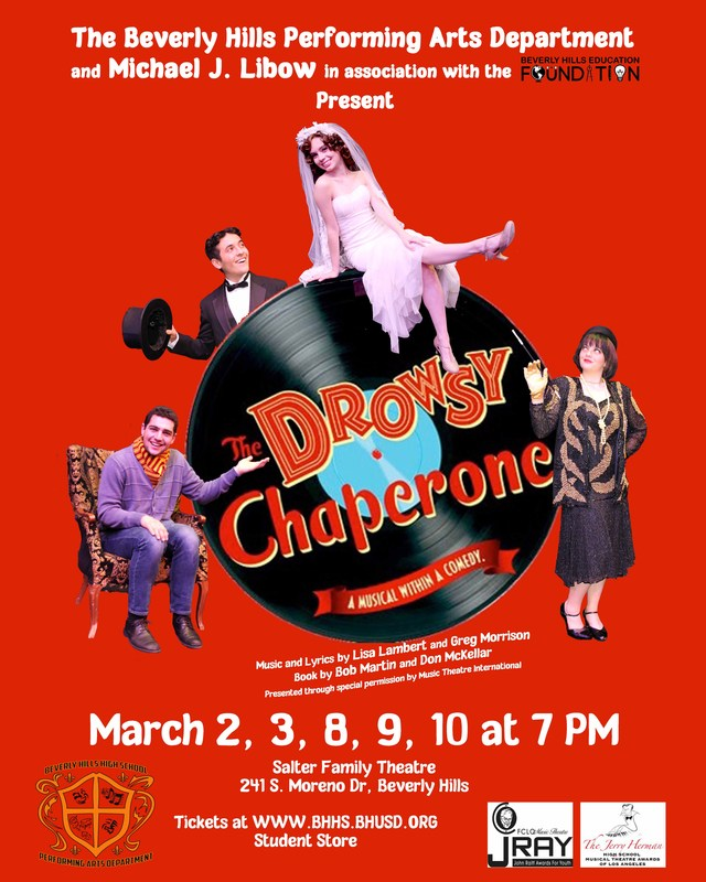BHHS PERFORMING ARTS POSTER DROWSY CHAPERONE