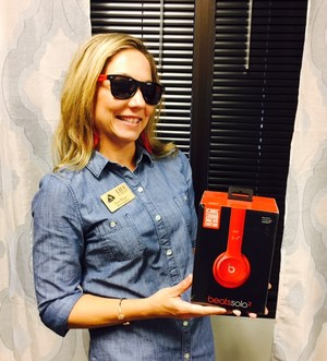 Our Principal, Mrs. Riepe, will be giving these BEATS away to a student that comes to orientation and visits all the required stations.  Don't miss out on the chance to win!!