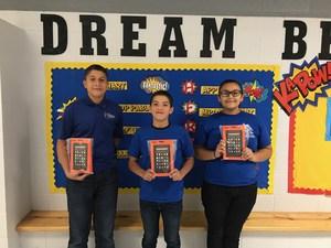 Students of the Month: Matthew Ayala, Matthew Rodriguez, Kiana Gomez