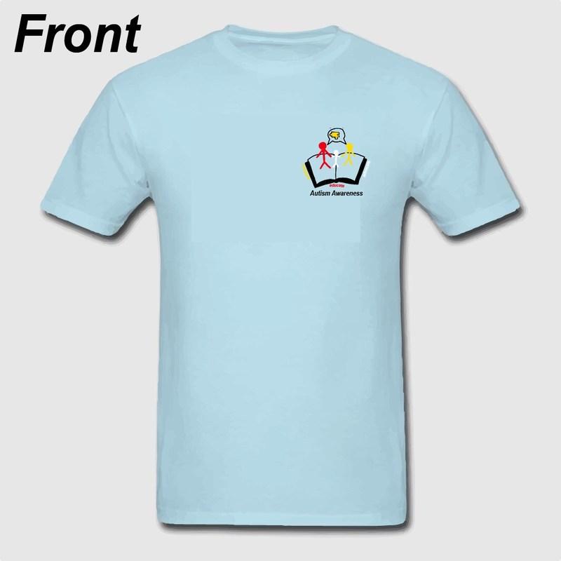 Autism t-shirt-front