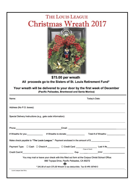 Sisters of St. Louis Wreaths Now Available! Featured Photo