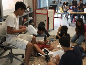 Johnson Students Help Sole Hope