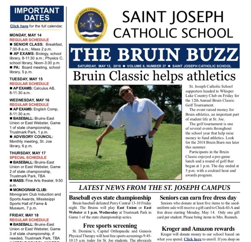 THE BRUIN BUZZ: SATURDAY, MAY 12 Thumbnail Image