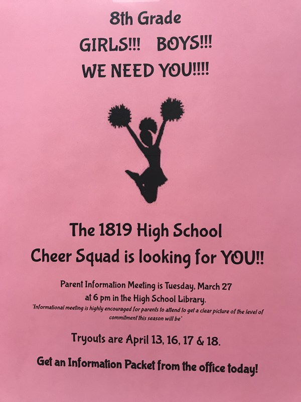 PHHS Cheerleading Tryouts