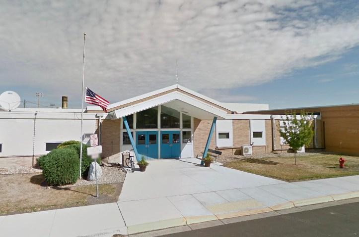 Griggs County Central School front entrance