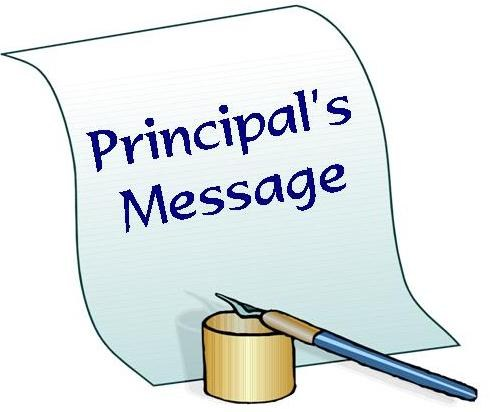 Principals Message image with fountain pen and ink well