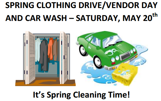 SPRING IS HERE - TIME TO CLEAN YOUR CLOSETS! Thumbnail Image