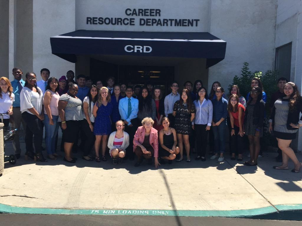 Energy Academy Summer interns with PG&E