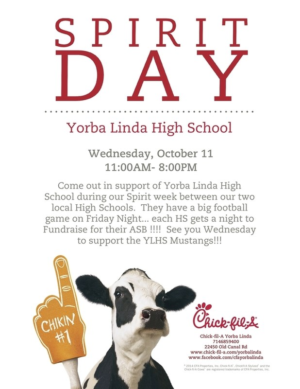 chick fil a fundraiser flyer