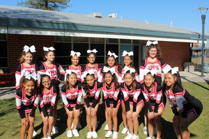 Cheerleading camp and tryouts.