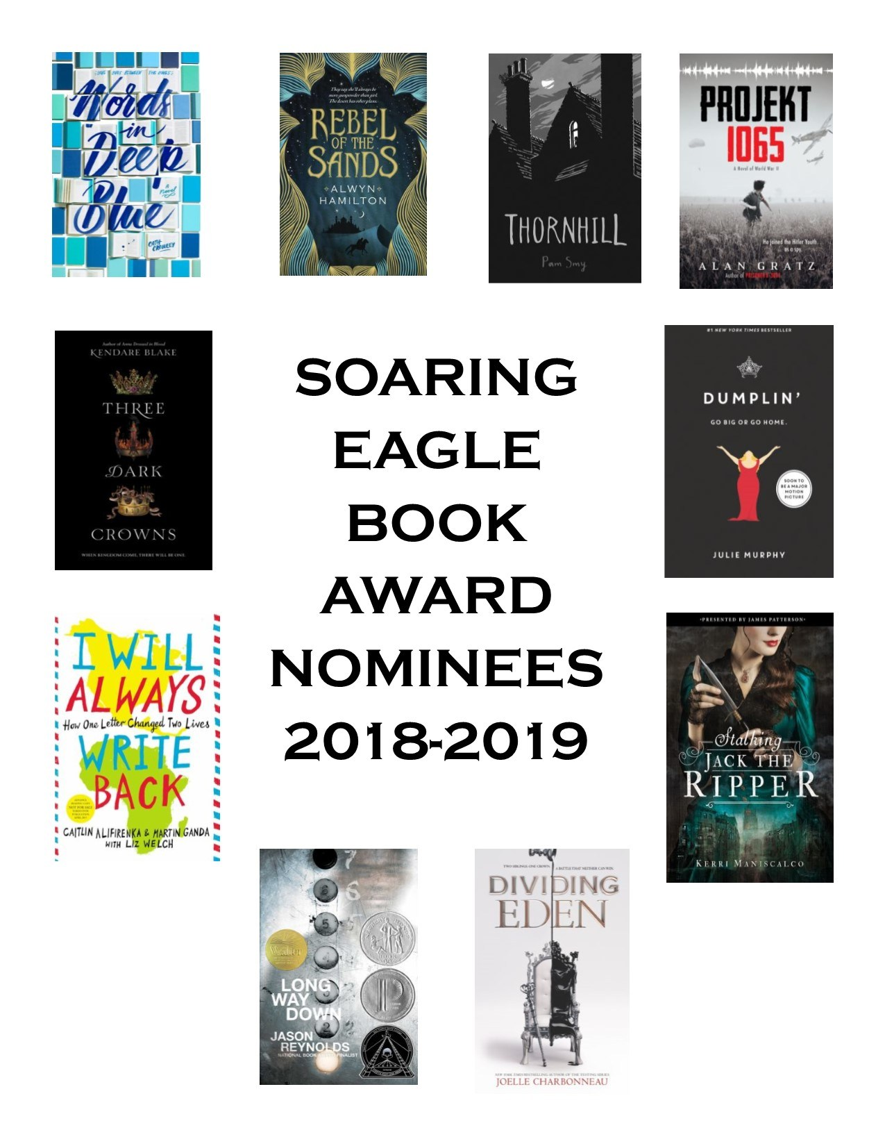 Nominees for Soaring Eagle 2018-19