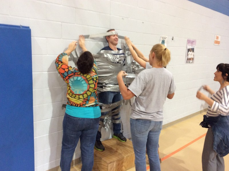 PCE Principal Gets In Sticky Situation At UIL Recognition Thumbnail Image