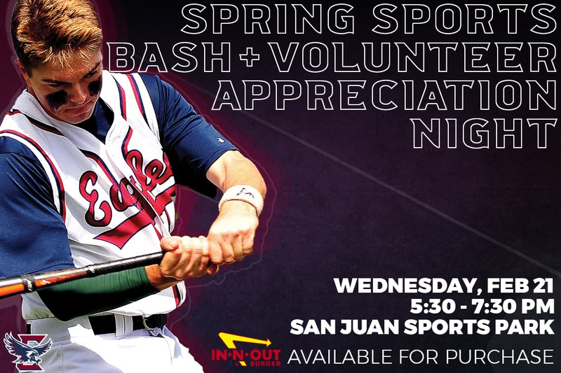 Spring Sports Bash and Volunteer Appreciation Night Featured Photo