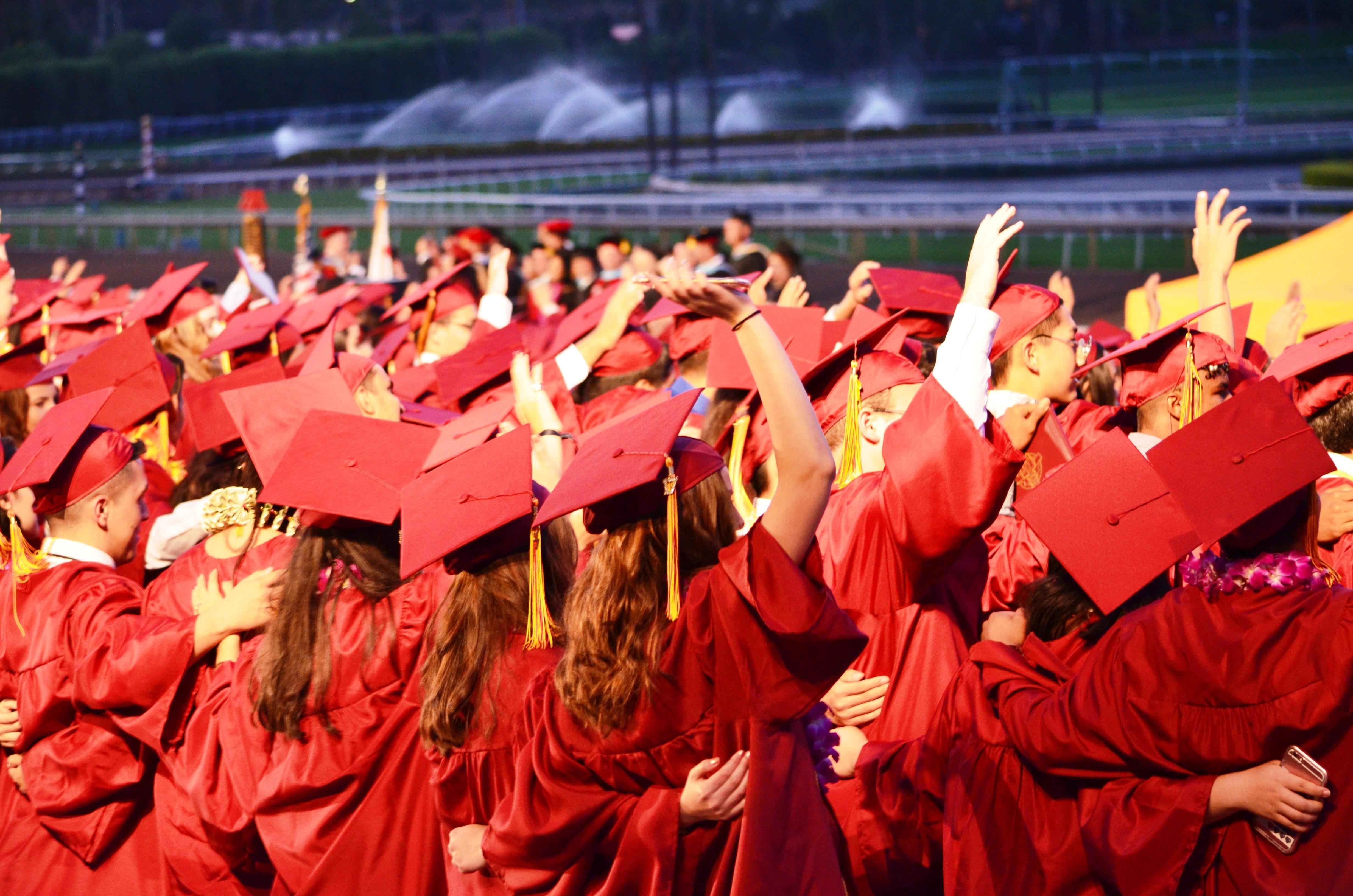 Arcadia High graduates