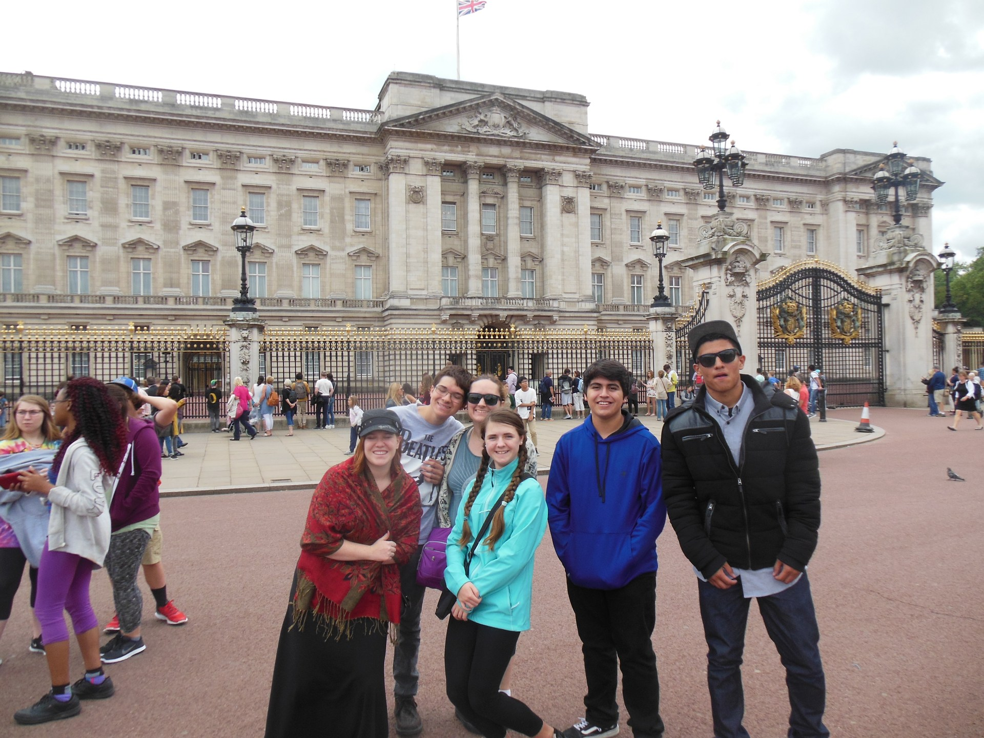 At Buckingham Palace