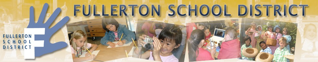 FSD Banner Image with logo and student images