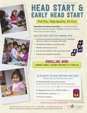 Head Start Now Enrolling