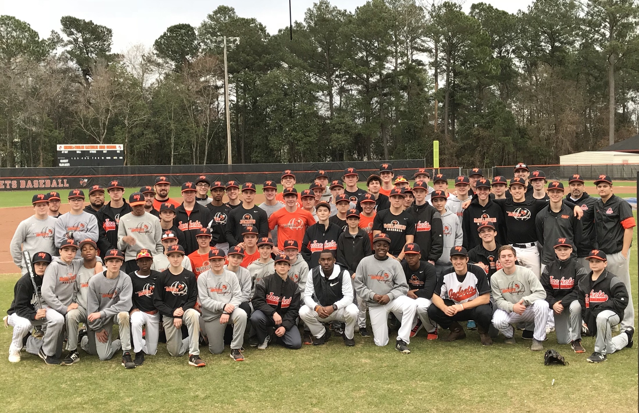 our 2018 hit a thon raised over 21000 this year for our baseball program thank you to all who donated to this fundraiser - Baseball Christmas