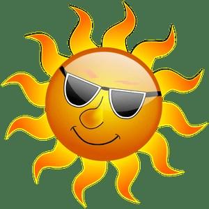 summer reading sun