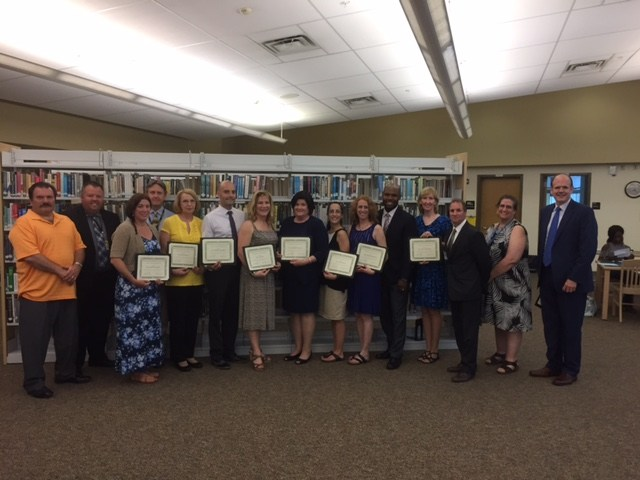 2016-2017 Governor's Teachers of the Year and Educational Specialists of the Year Thumbnail Image