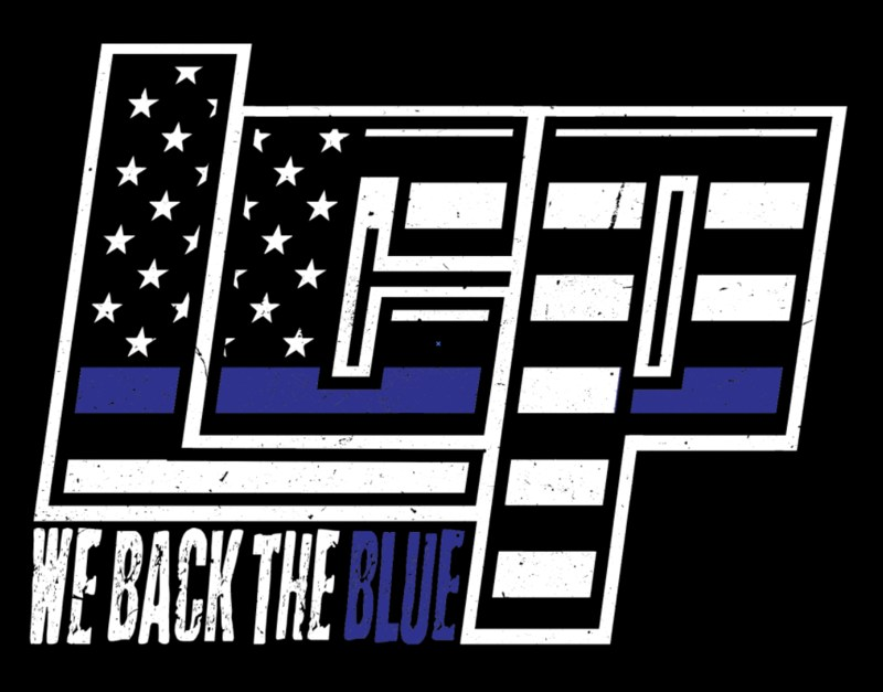 Purchase an LCP Back the Blue Shirt by Friday, December 15 Thumbnail Image