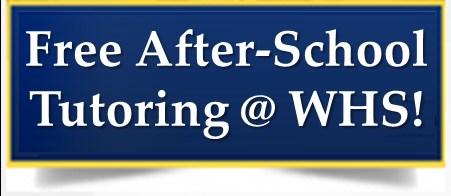 *FREE* Tutoring @ WHS! Thumbnail Image