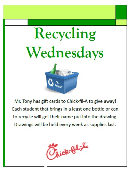 Recycling Wednesdays Featured Photo