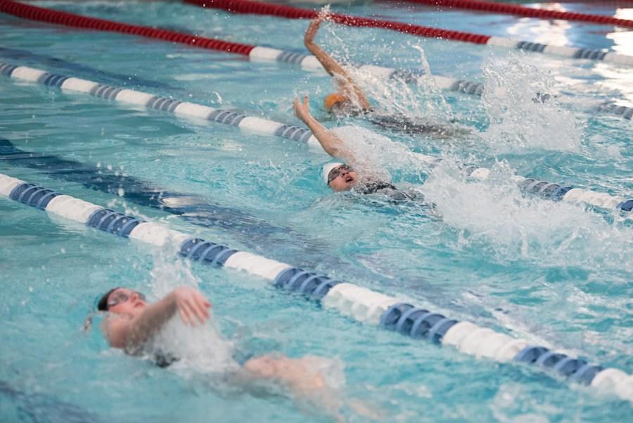 backstrok meet