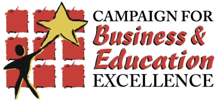 Campaign for Business and Education Excellence Award logo