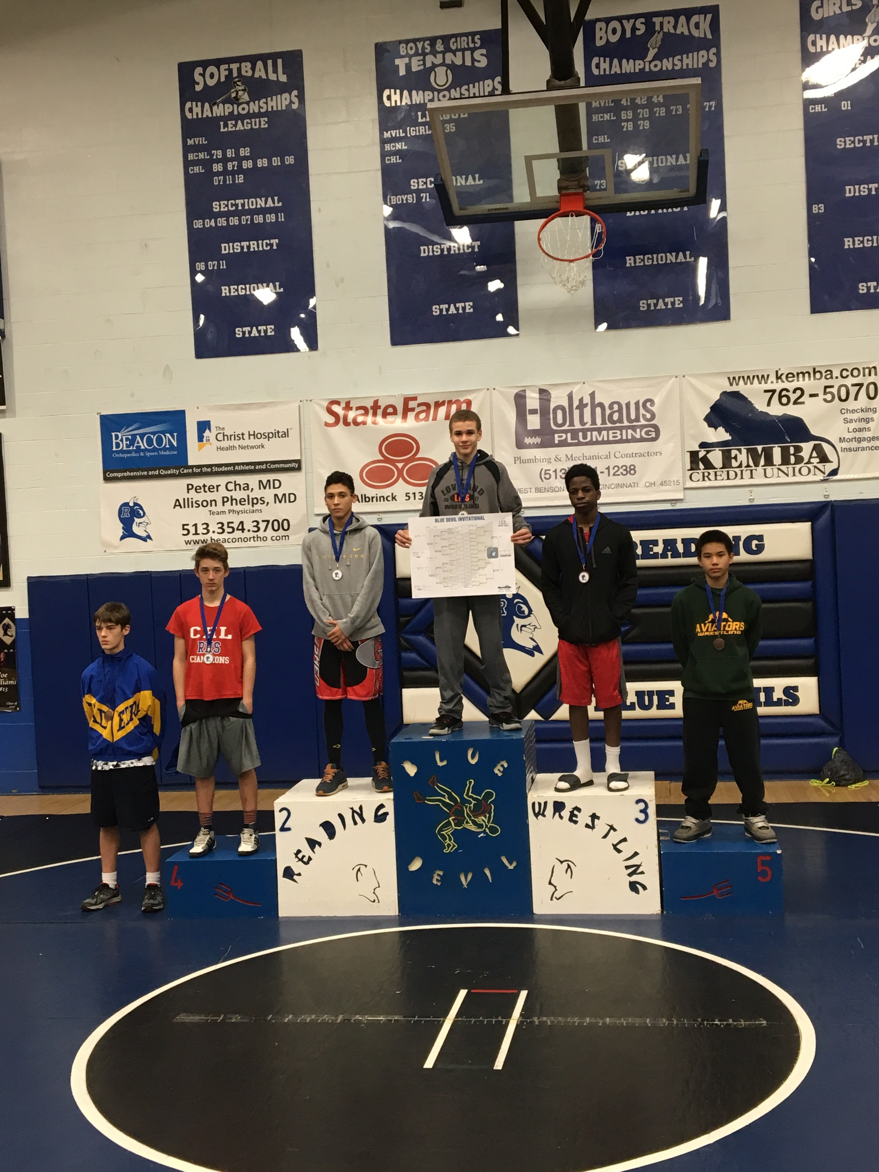 8th grade wrestler Rafeal Farris