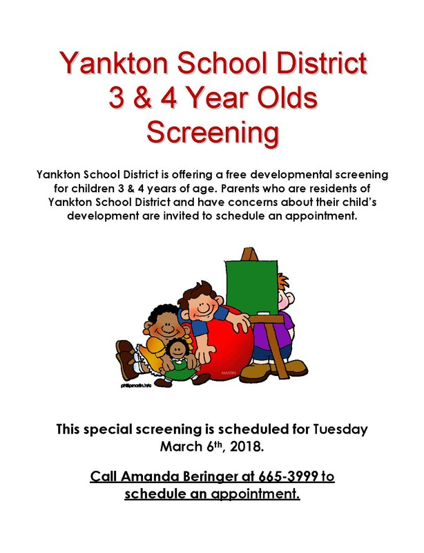 Screening for 3 & 4 Year Old Children Being Offered Thumbnail Image