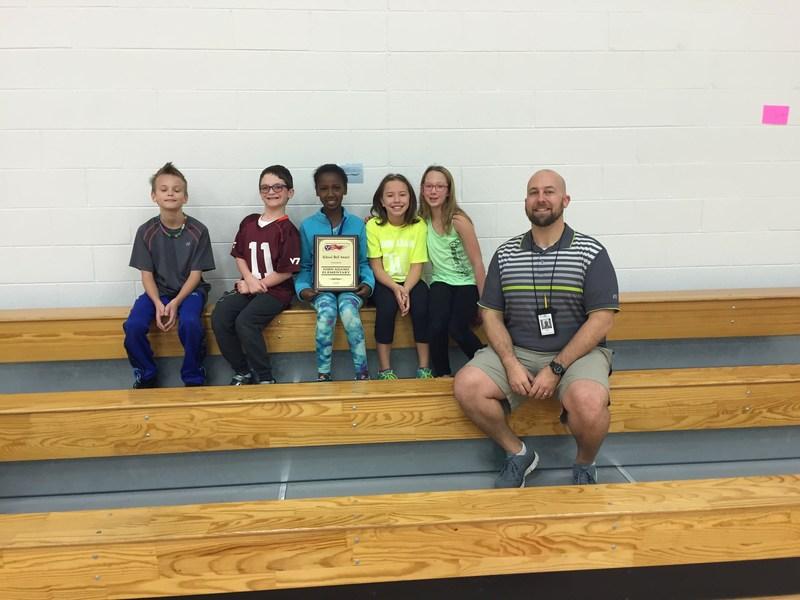 John Adams Elementary students