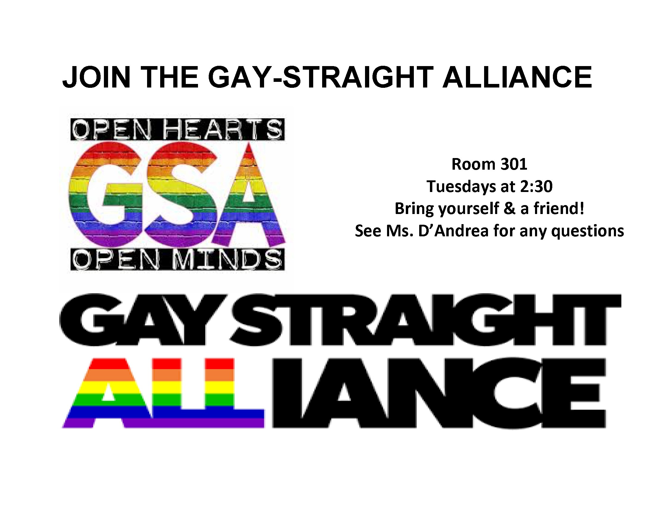 How to Start a GayStraight Alliance at Your School How to Start a GayStraight Alliance at Your School new picture