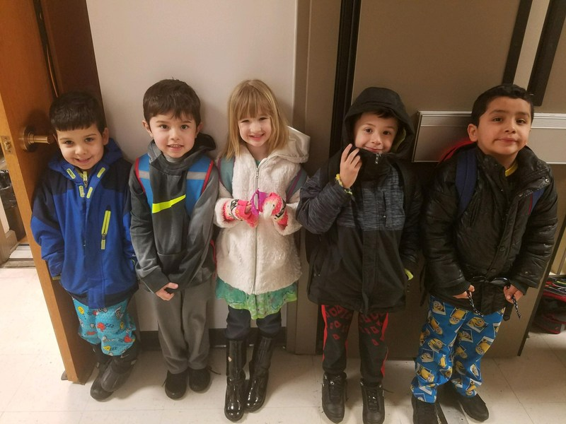 Afternoon Kindergarten Dolphin Dollar Winners for February 2018 Featured Photo