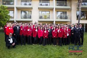 ROC SkillsUSA students and staff