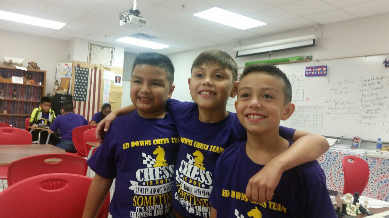 Lando Cisneros, Angel Parra, & Cobretti Rodriguez ~ 3rd Grade Teamwork!!