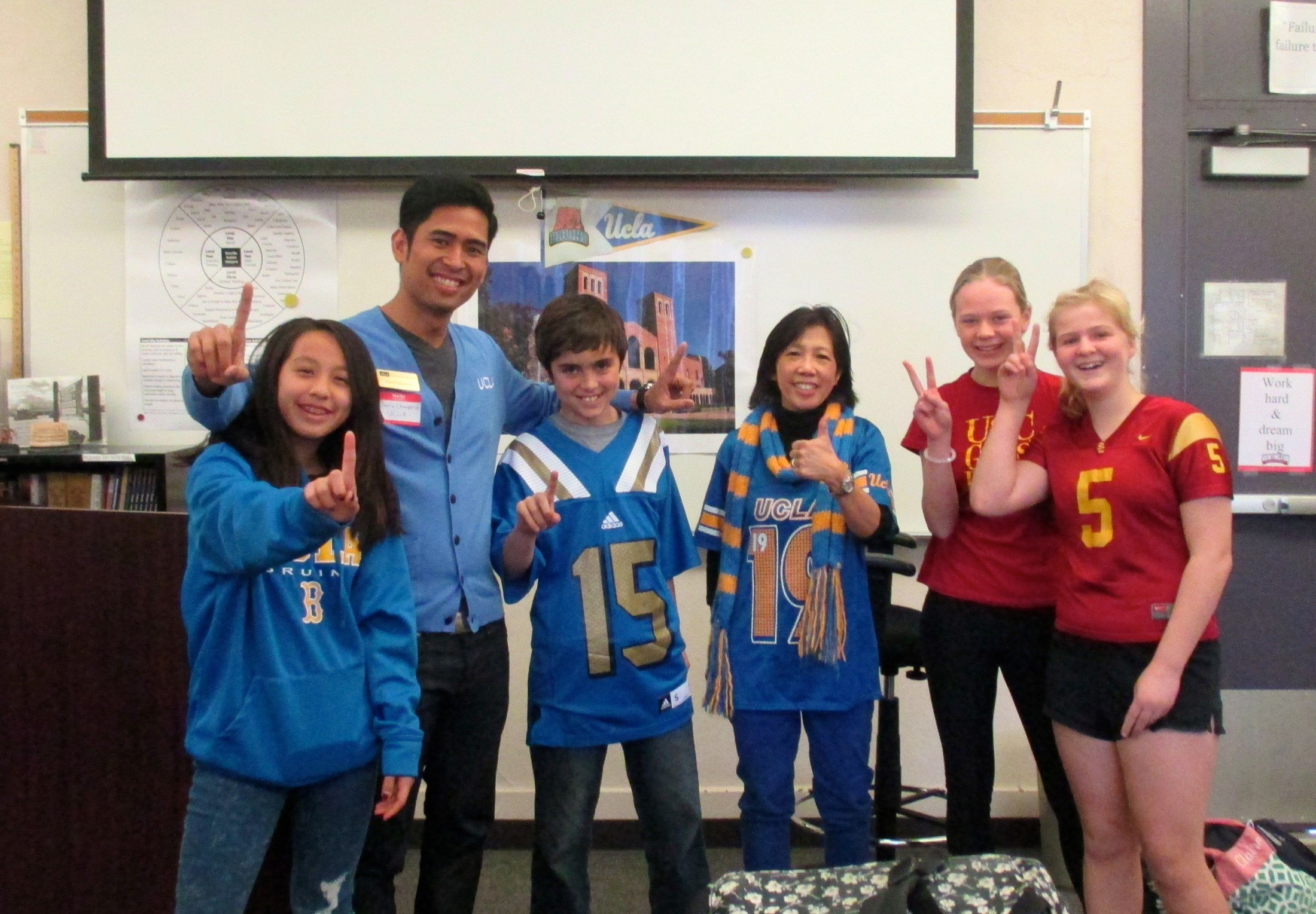 Career day UCLA Admissions counselor