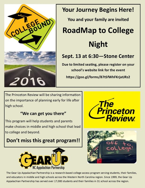 GEAR UP Road Map to College Thumbnail Image